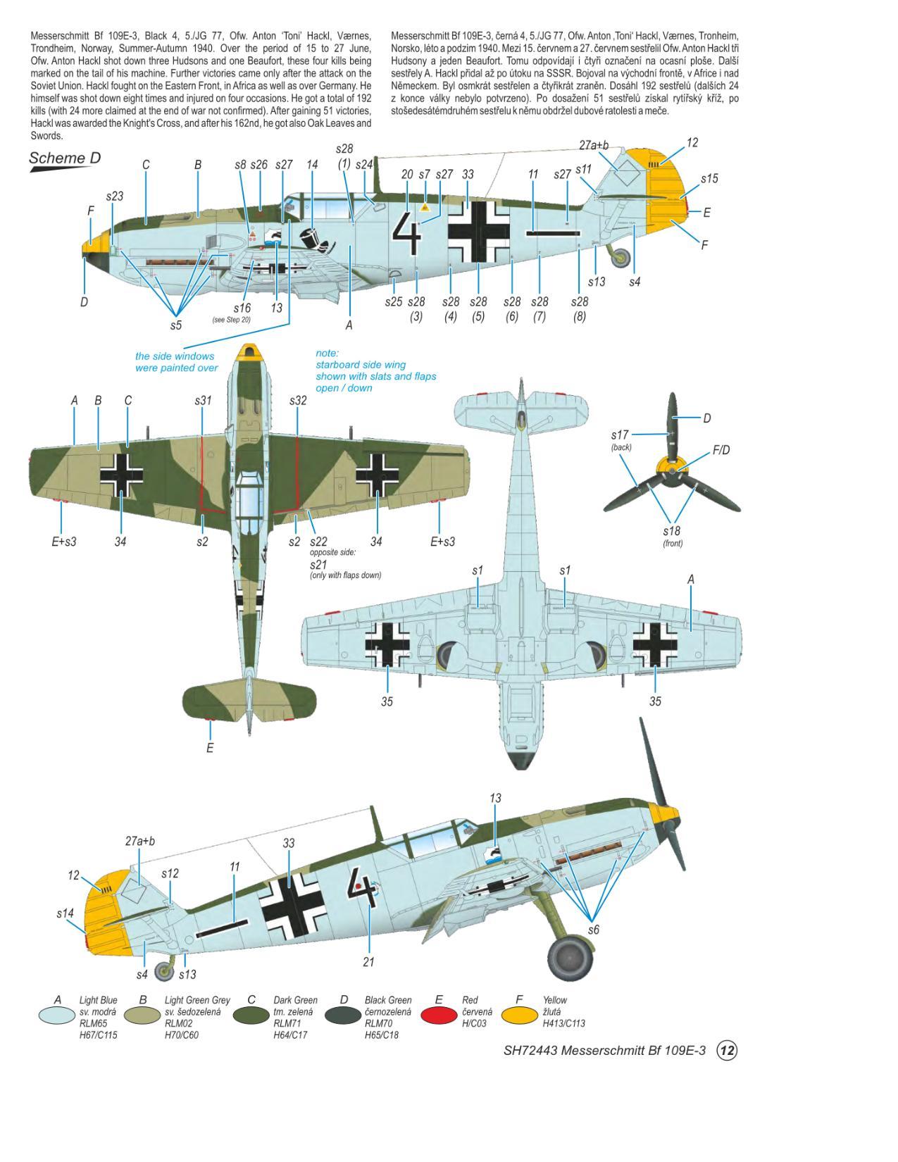 Messerschmitt Bf 109E-3  - foto 8-4
