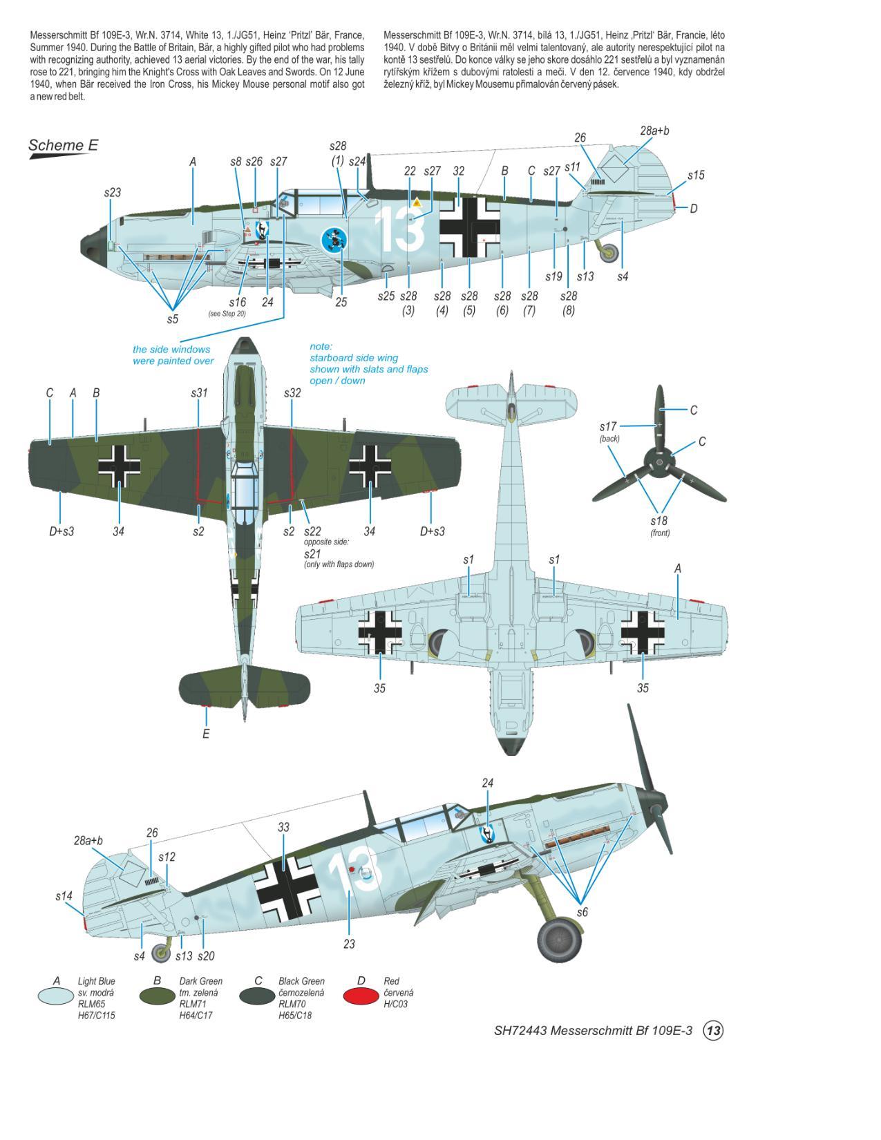 Messerschmitt Bf 109E-3  - foto 8-5