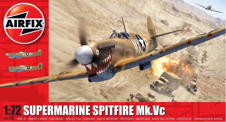 02108 Supermarine Spitfire Mk.Vc Airfix 1/72 – foto 0