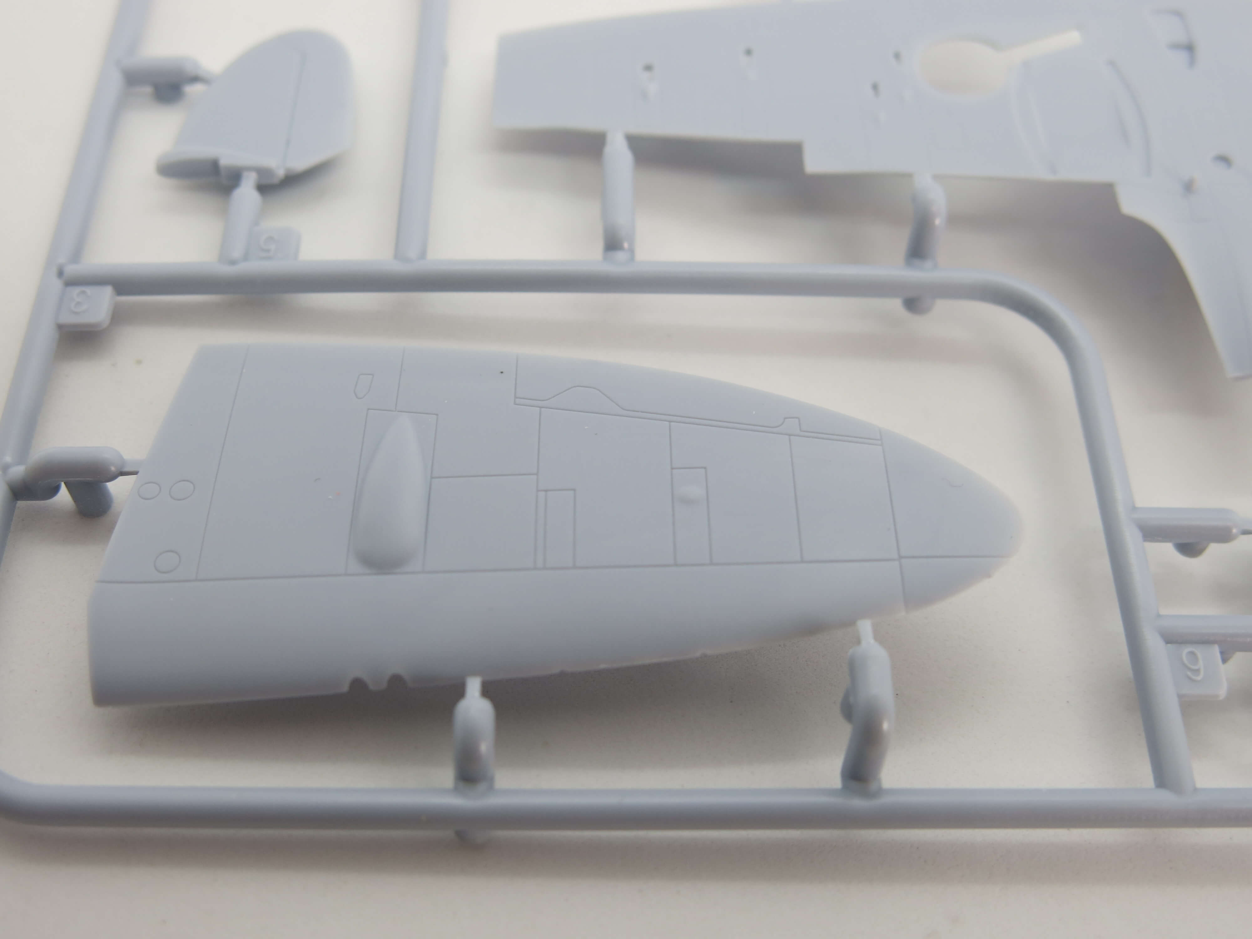 02108 Supermarine Spitfire Mk.Vc Airfix 1/72 – foto 3