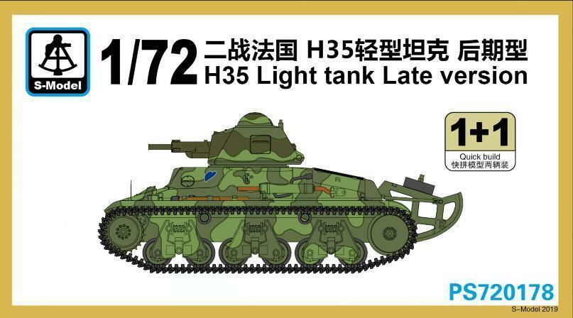 PS720178 H35 Light Tank Late Version